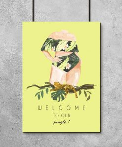 Plakat welcome to our jungle
