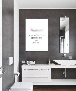Plakat na ścianę do łazienki