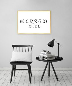 Plakat Warsaw girl