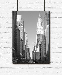 Plakat na ścianę z Nowym Jorkiem