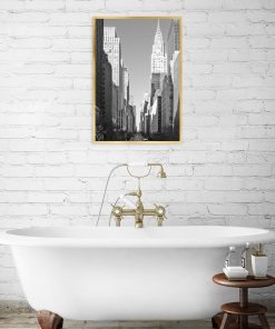 Plakat z motywem miasta