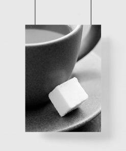 Plakat kostka cukru
