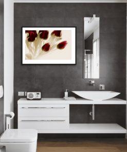tulipany jako dekoracja