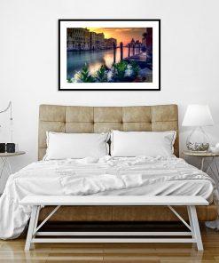 kolorowa Wenecja jako plakat