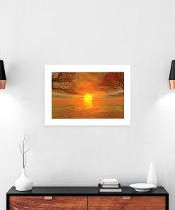 motyw słońca jako plakat