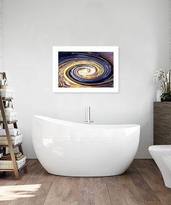 abstrakcja z wodą