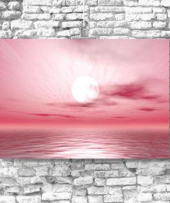 różowy odcień plakatu
