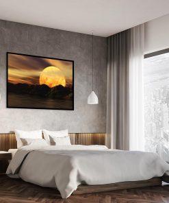 dekoracja klimatyczna - sypialnia
