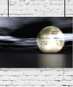 motyw księżyca jako dekoracja
