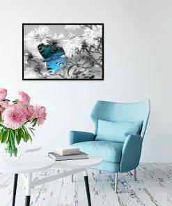 kolorowy motylek jako dekoracja