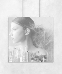 motyw kobiety i miasta