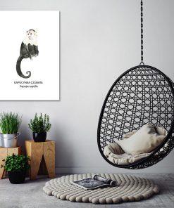 dekoracja z kapucynką