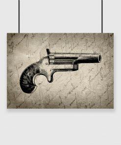 pistolet jako motyw