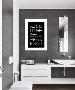 plakat z humorystycznym napisem
