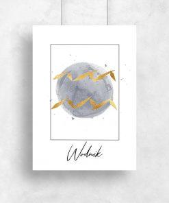 plakat przedstawiający znak zodiaku