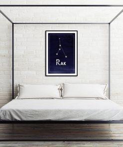 plakat do sypialni