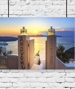 plakat z grecją