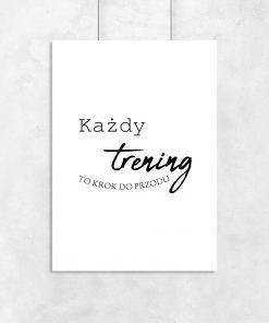 plakat napisem po polsku