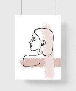 plakat w stylu skandynawskim