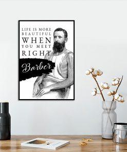 plakat dla barbera