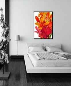 botaniczny plakat do sypialni