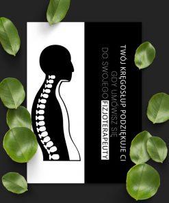 plakat o fizjoterapeucie