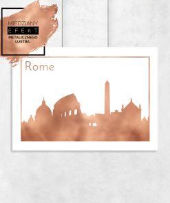 plakat z napisem Rome