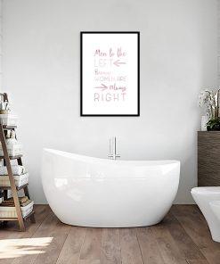 plakat łazienkowy