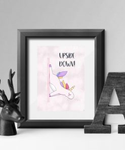 Plakat - Upside down do studia pole dance