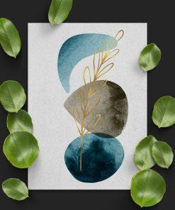 Artystyczny plakat do biura - Roślina