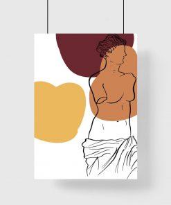 Plakat z Wenus z Milo do salonu
