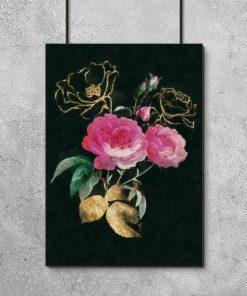 Plakat do oprawienia z motywem róż