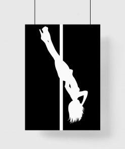 Plakat polecamy do studia tanecznego