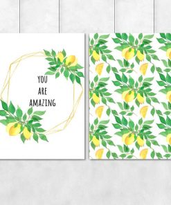 Plakat dyptyk do salonu - You are amazing