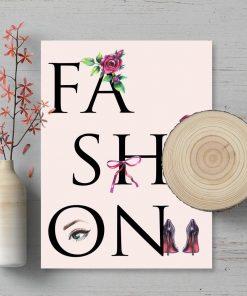 Plakat dla modystki