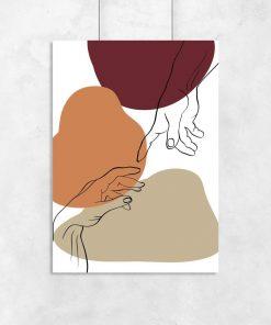 Plakat do salonu - Stworzenie Adama