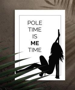 Plakat pole dance - Pole time