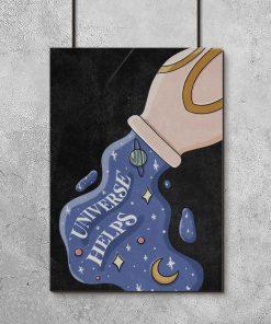 Plakat do salonu - Universe helps