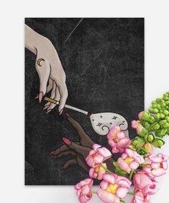 Plakat do sypialni - Cigarette