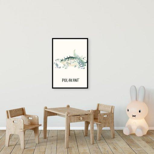Plakat do pokoju rodzeństwa - Polakant