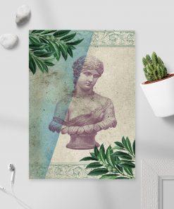 Plakat statuetka kobiety