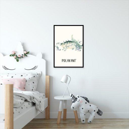 Plakat dla chłopca z polakantem