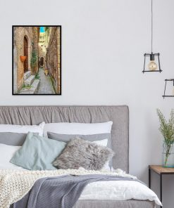 Plakat do dekoracji salonu z Pitigliano