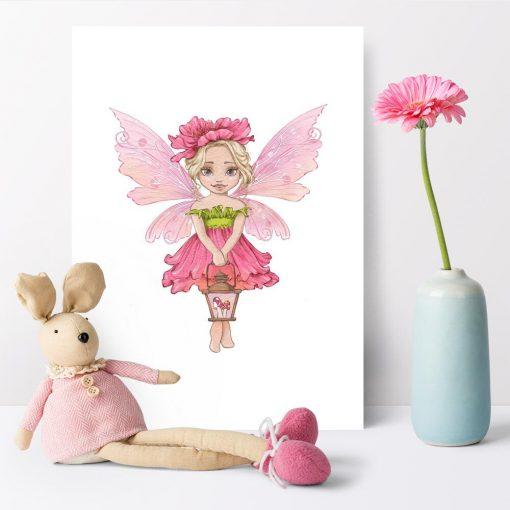 Plakat na prezent - Leśna księżniczka