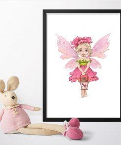 Plakat dla przedszkolaka - Leśna księżniczka