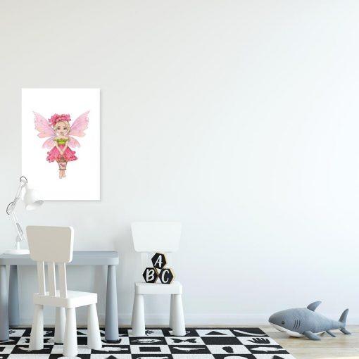 Plakat do szkoły - Leśna księżniczka
