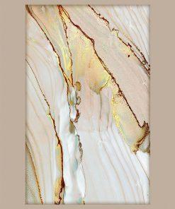 Plakat z abstrakcyjną strukturą marmuru do dekoracji salonu