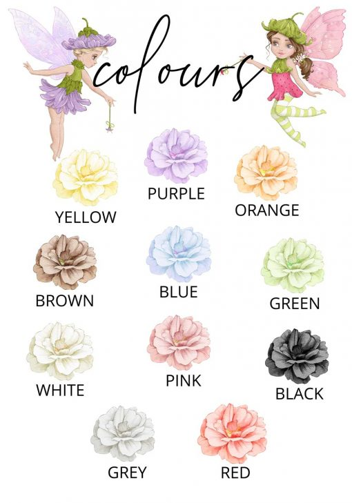 Plakat dla dziecka - Kolory