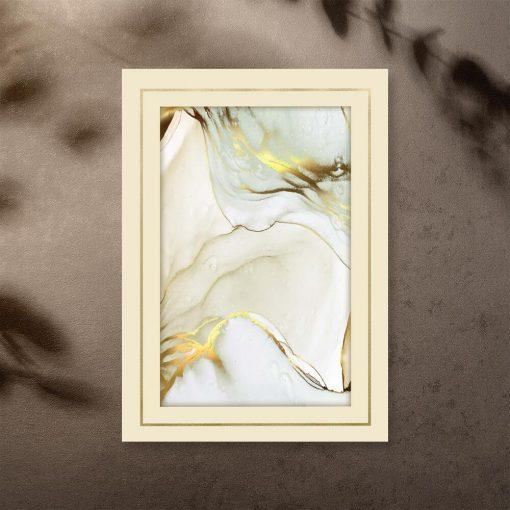 Plakat do oprawienia z abstrakcją
