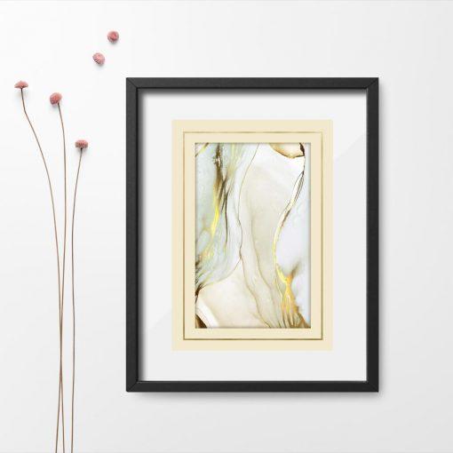 Plakat z abstrakcyjnym deseniem